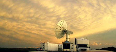 Picture of a radar dish