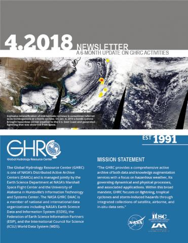 GHRC Newsletter cover