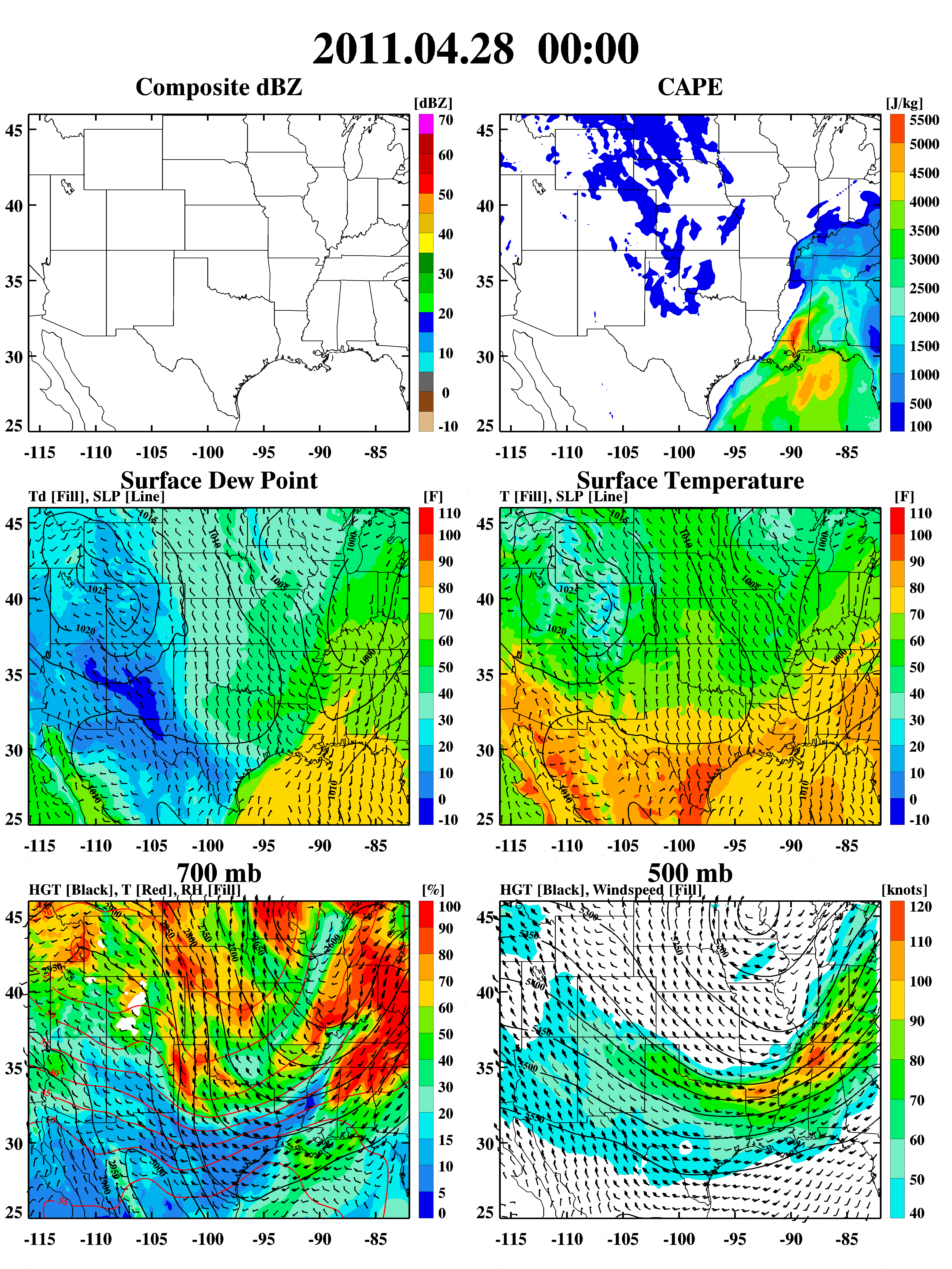GPM Ground Validation Weather Research and Forecasting (WRF) Images
