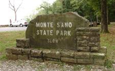 Monte Sano state park entrance